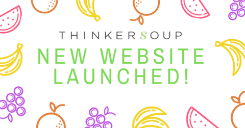 The new Thinkersoup website is finally online!